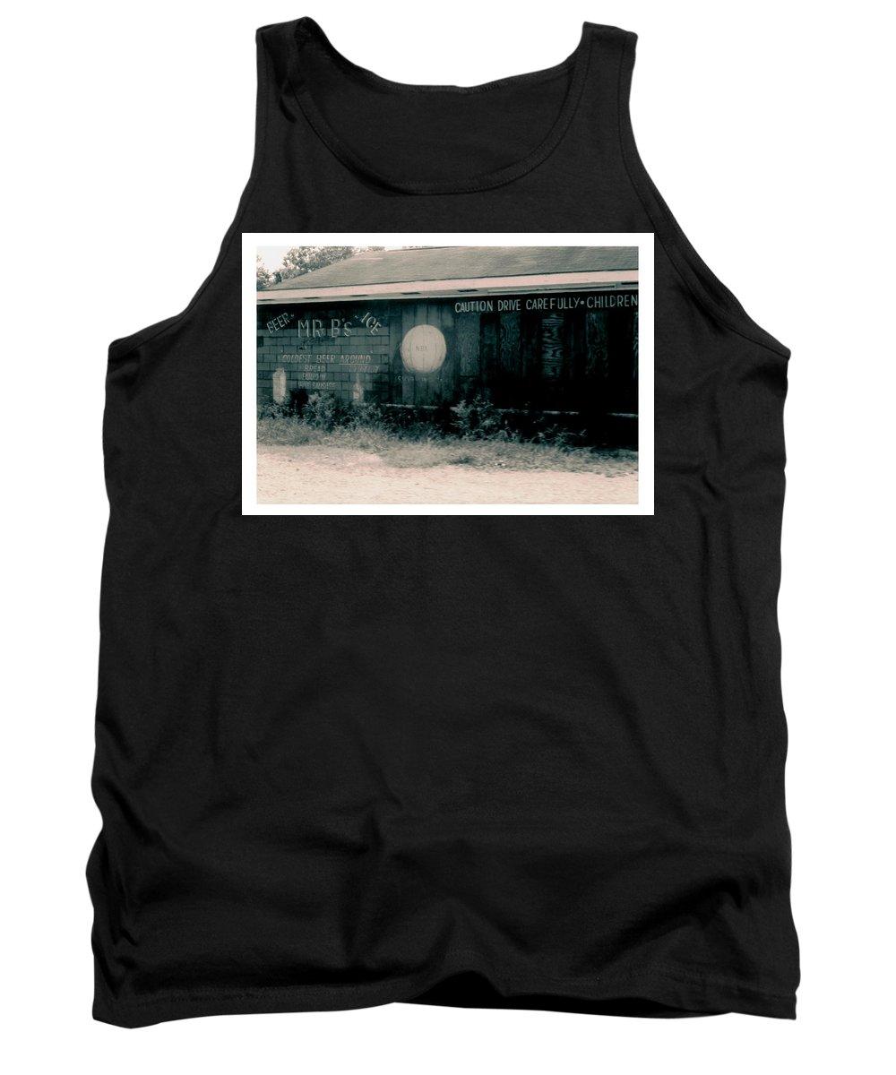 Louisiana Tank Top featuring the photograph Mr Bs Jeanerette- Louisiana by Doug Duffey
