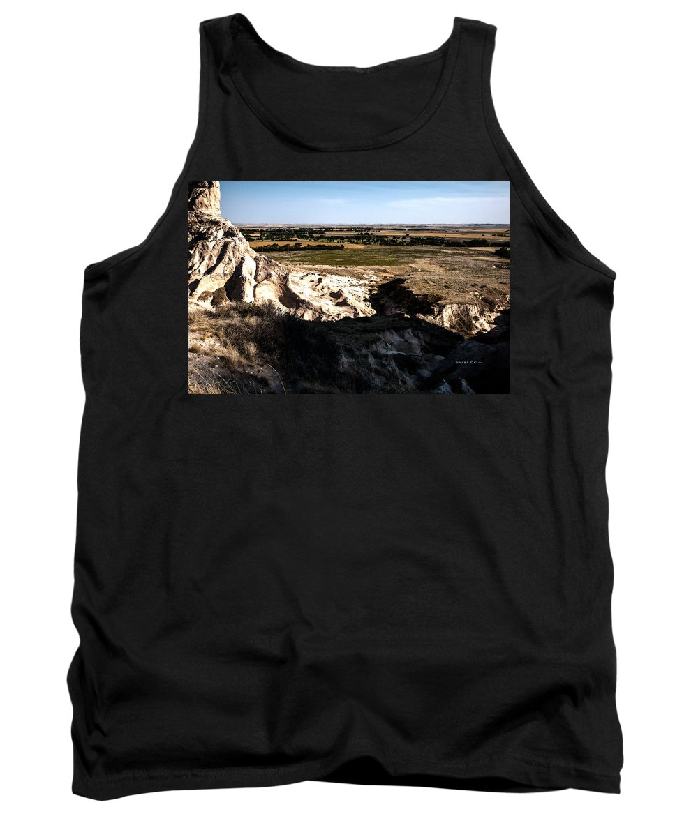Western Nebraska Tank Top featuring the photograph Nebraska Plains by Edward Peterson