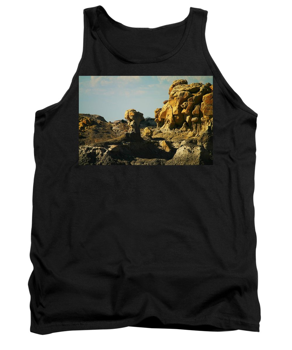 Rocks Tank Top featuring the photograph New Mexico Red Rock by Jeff Swan