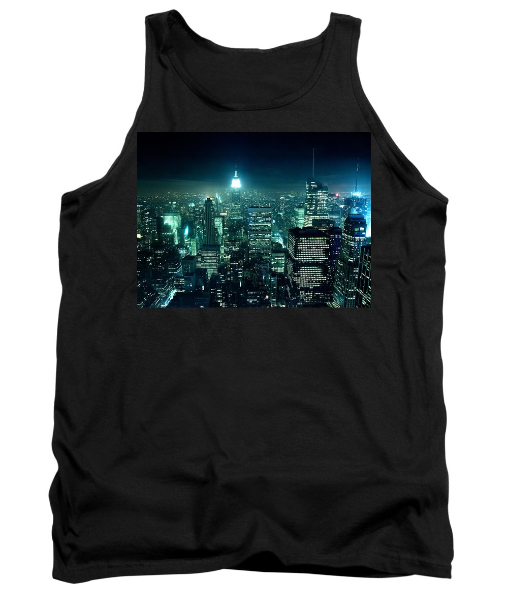 New Tank Top featuring the photograph New York by Andy Linden