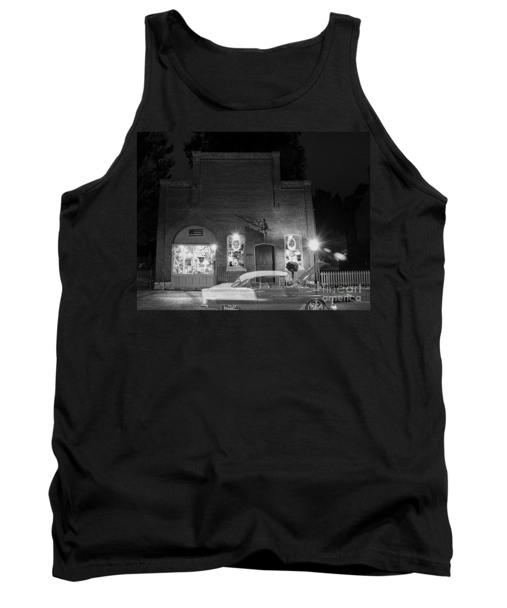 1955 Tank Top featuring the photograph Nights Forgotten by Tim Mulina