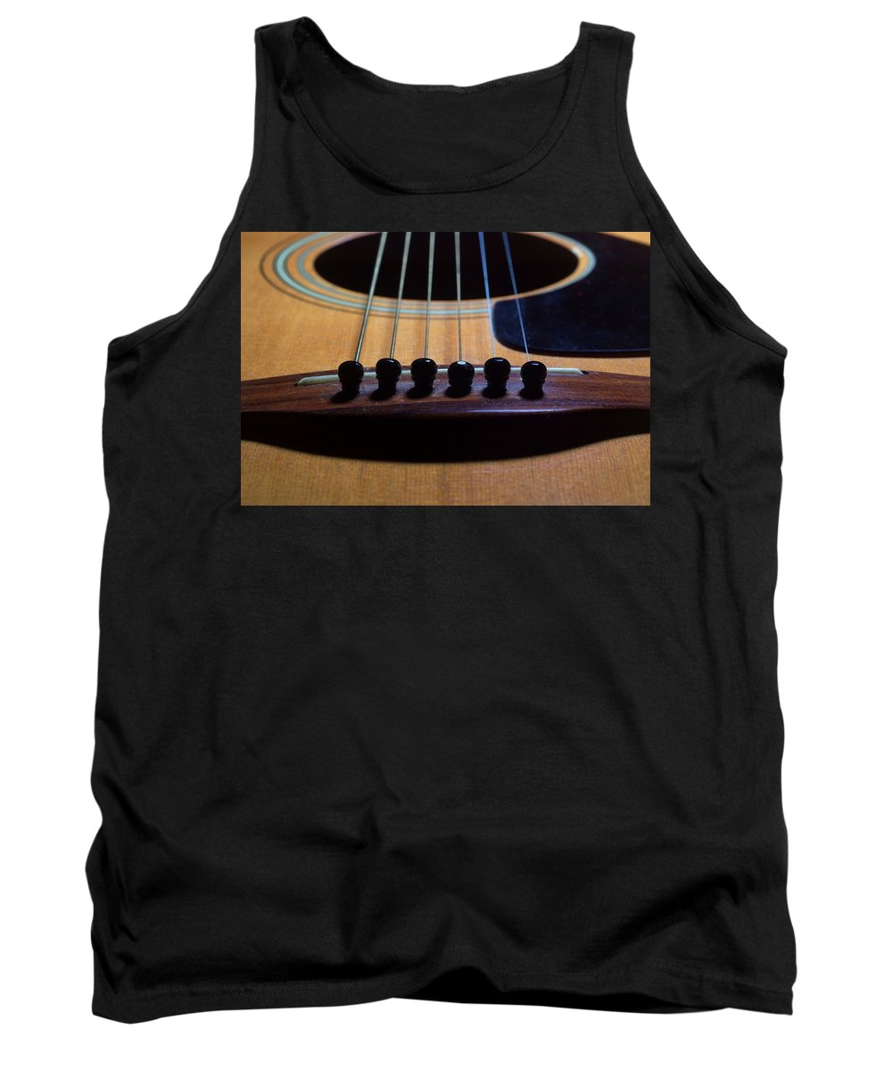 Guitar Tank Top featuring the photograph Odd Man Out by Joe Kozlowski
