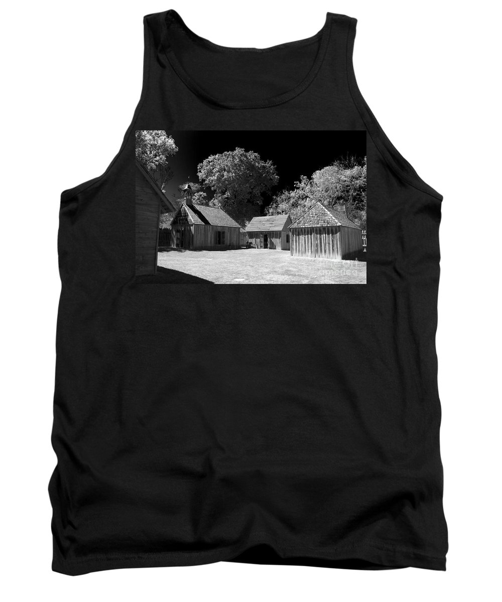 Fort Tank Top featuring the photograph Old Fort by Ken Frischkorn