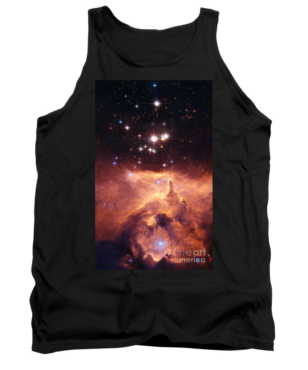 Nasa Tank Top featuring the photograph Open Cluster Pismis by Nasa