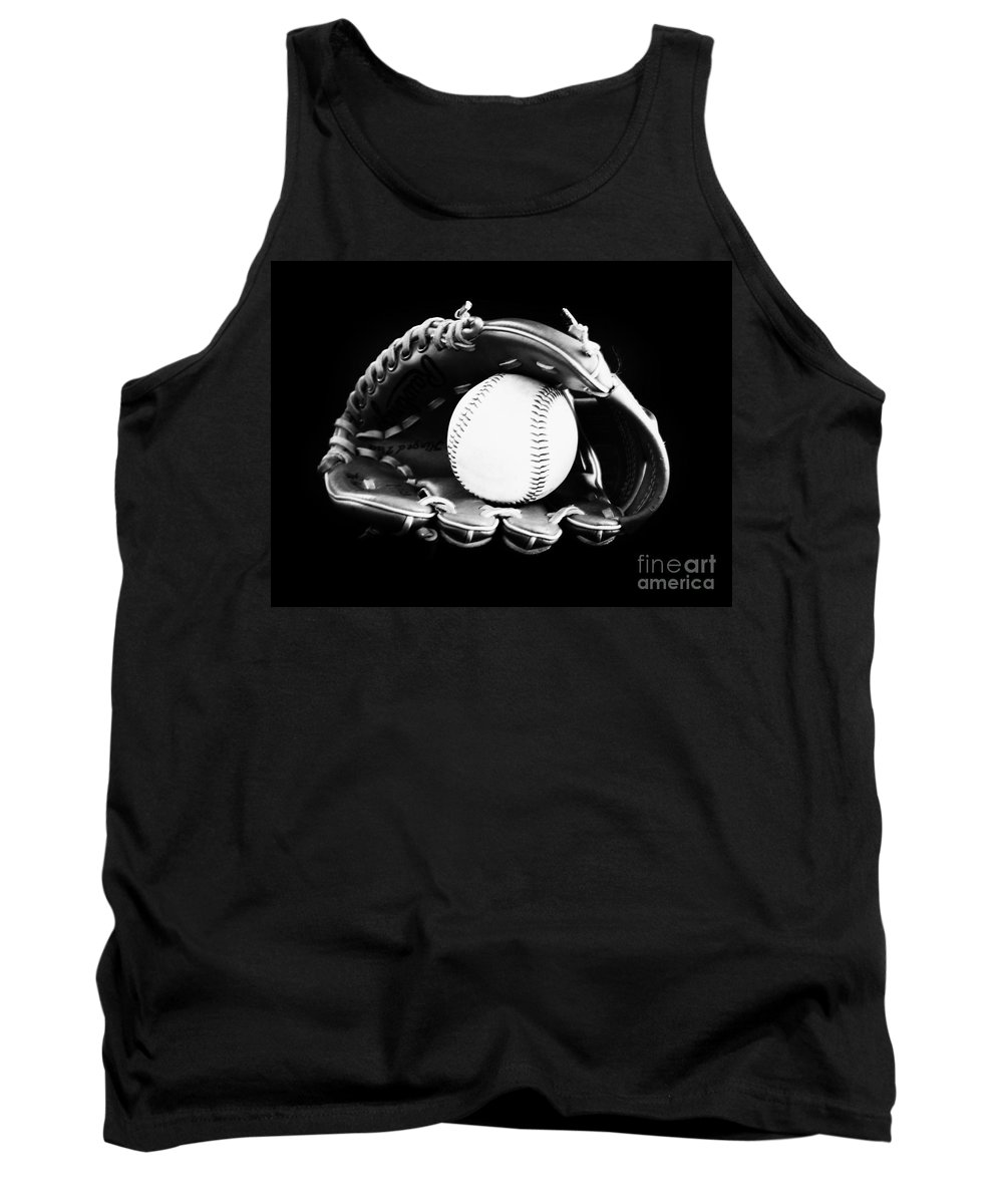 Baseball Tank Top featuring the photograph Out To The Ball Park by Lj Lambert