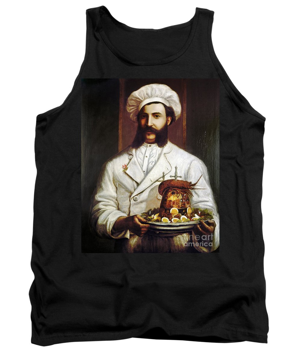 1874 Tank Top featuring the photograph Palace Hotel Chef by Granger