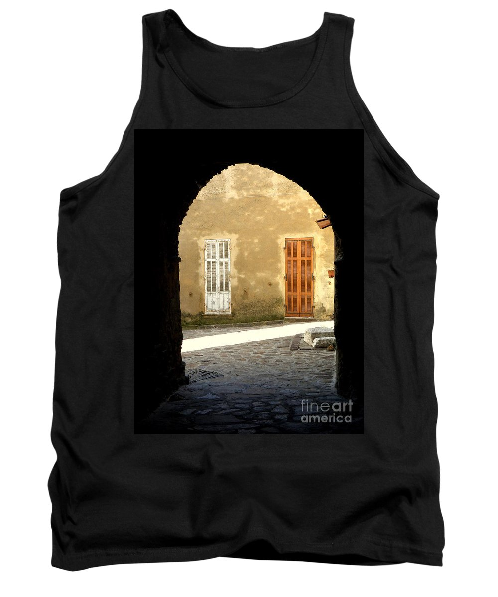 Passage Tank Top featuring the photograph Passage by Lainie Wrightson