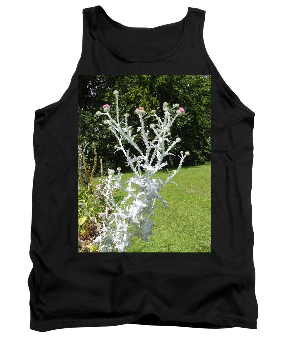 Plant Tank Top featuring the photograph Plant And Flowers by Ashok Patel