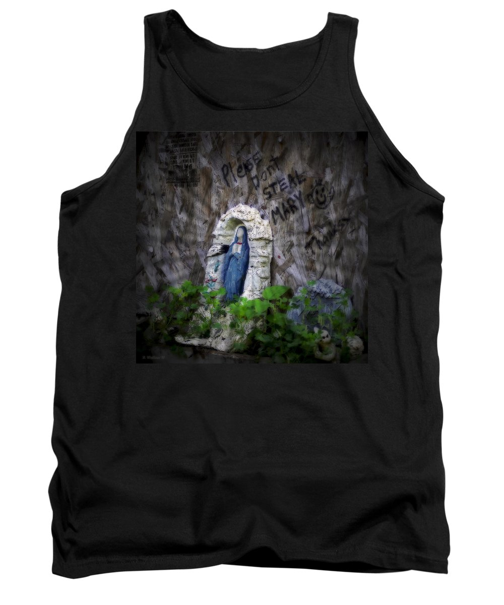 2d Tank Top featuring the photograph Please Don't Steal Mary by Brian Wallace