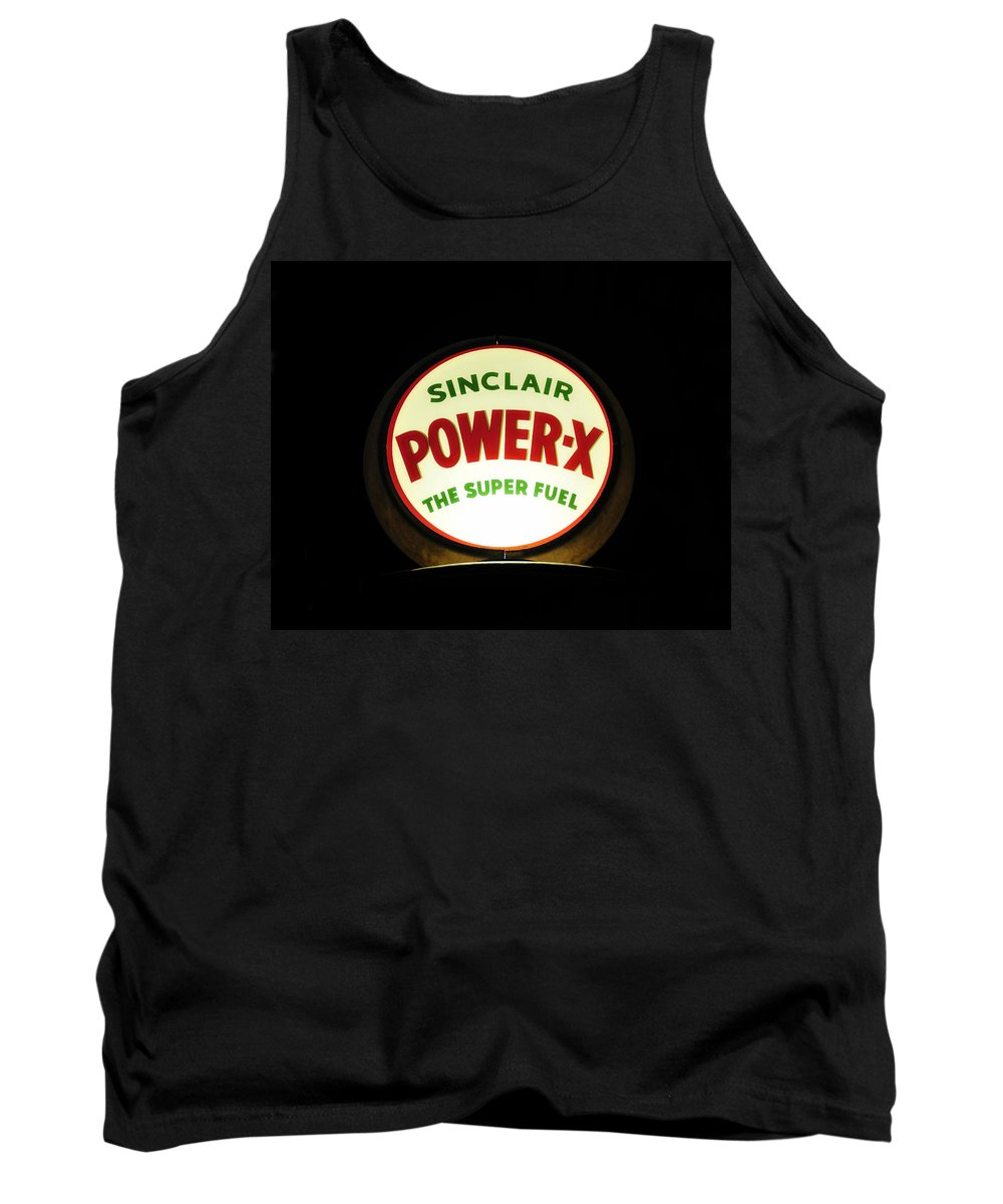 Fine Art Photography Tank Top featuring the photograph Power X by David Lee Thompson
