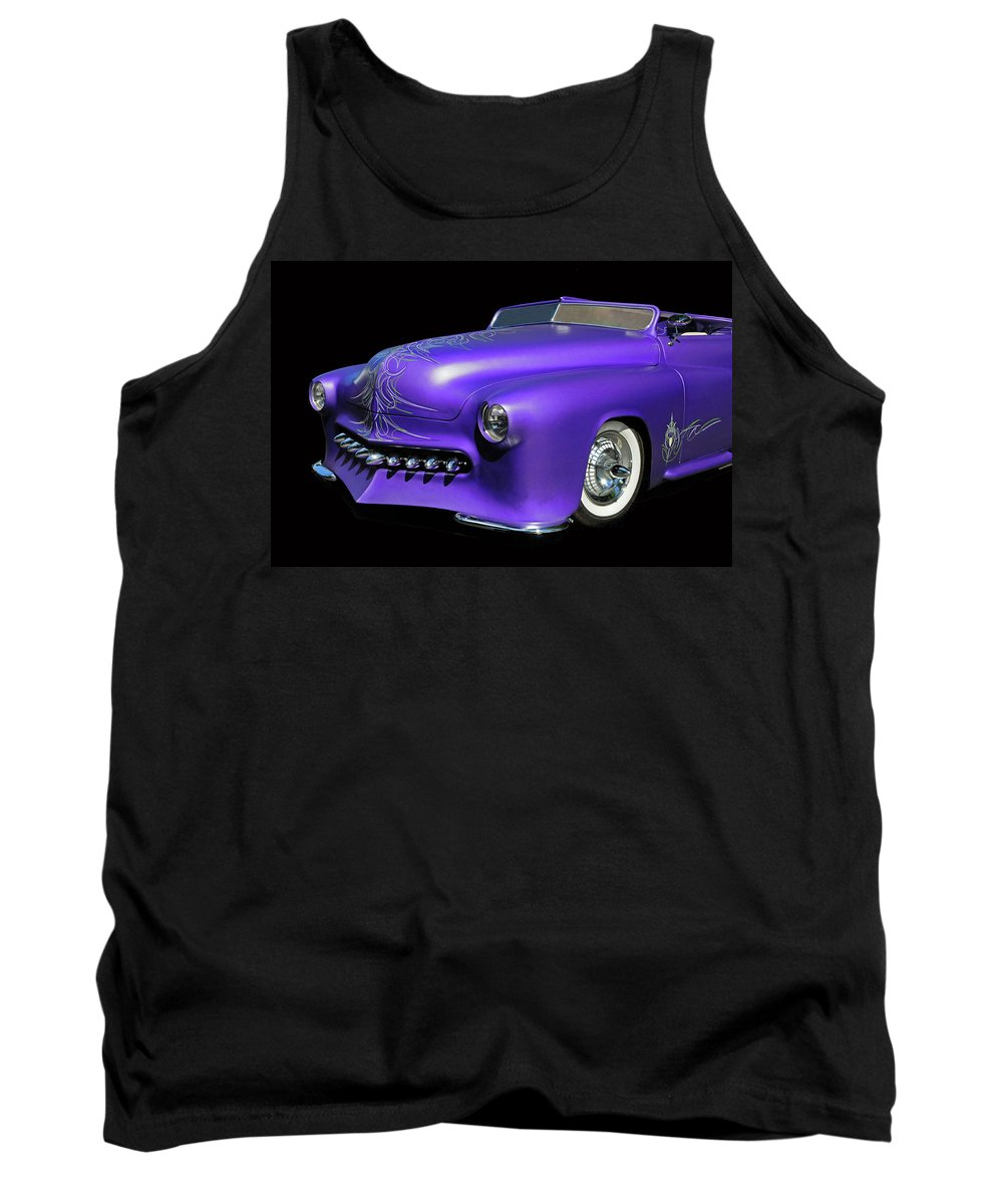 Car Tank Top featuring the photograph Purple Customized by Dave Mills