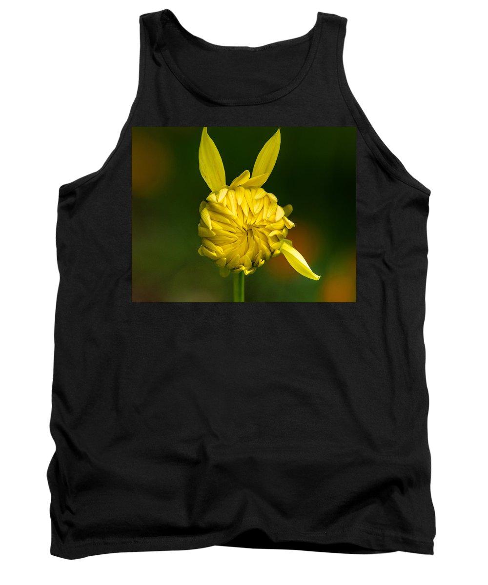 Flower Tank Top featuring the photograph Rabbit Flower by Greg Nyquist