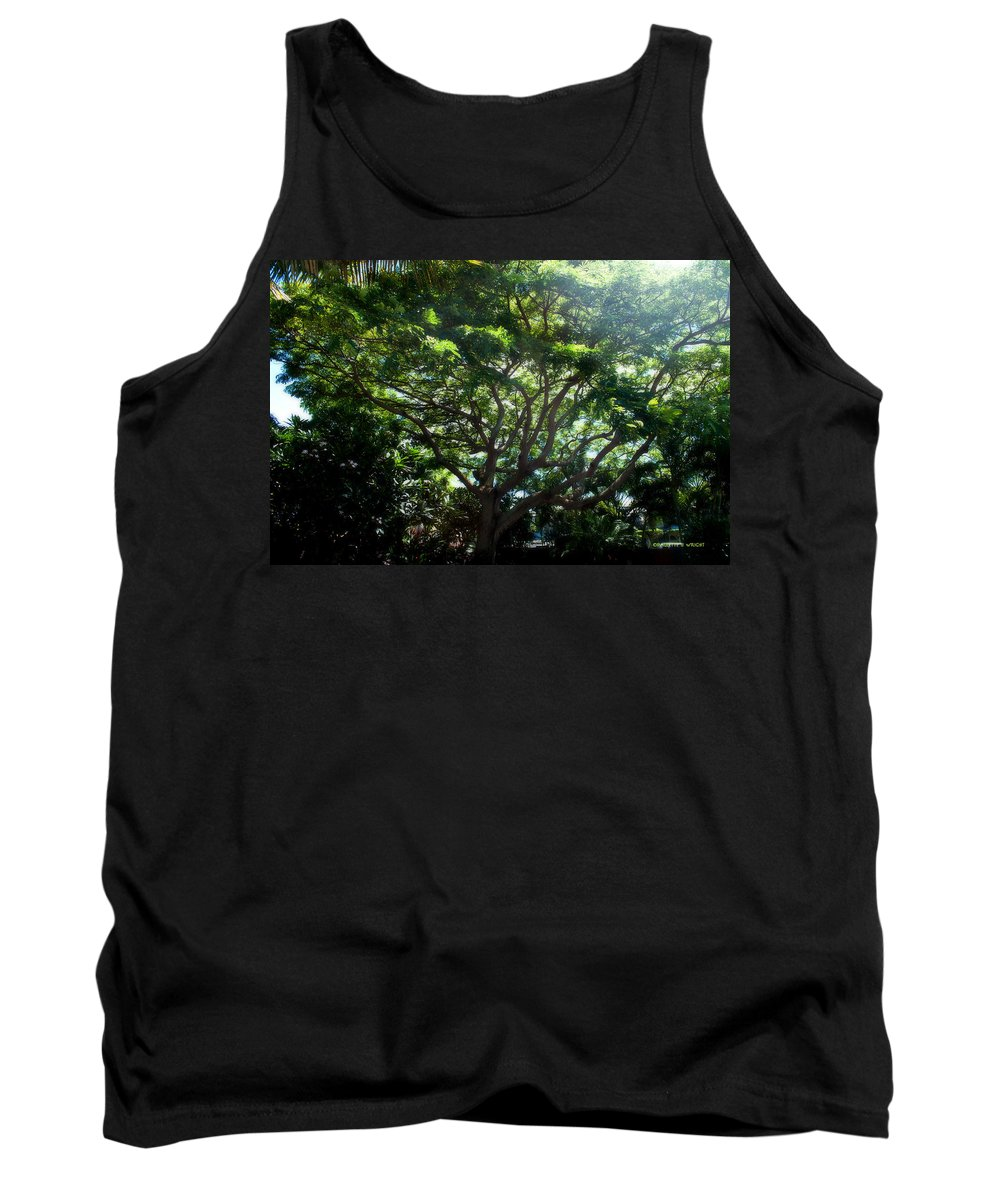 Nature Tank Top featuring the photograph Reach High And Wide by Paulette B Wright