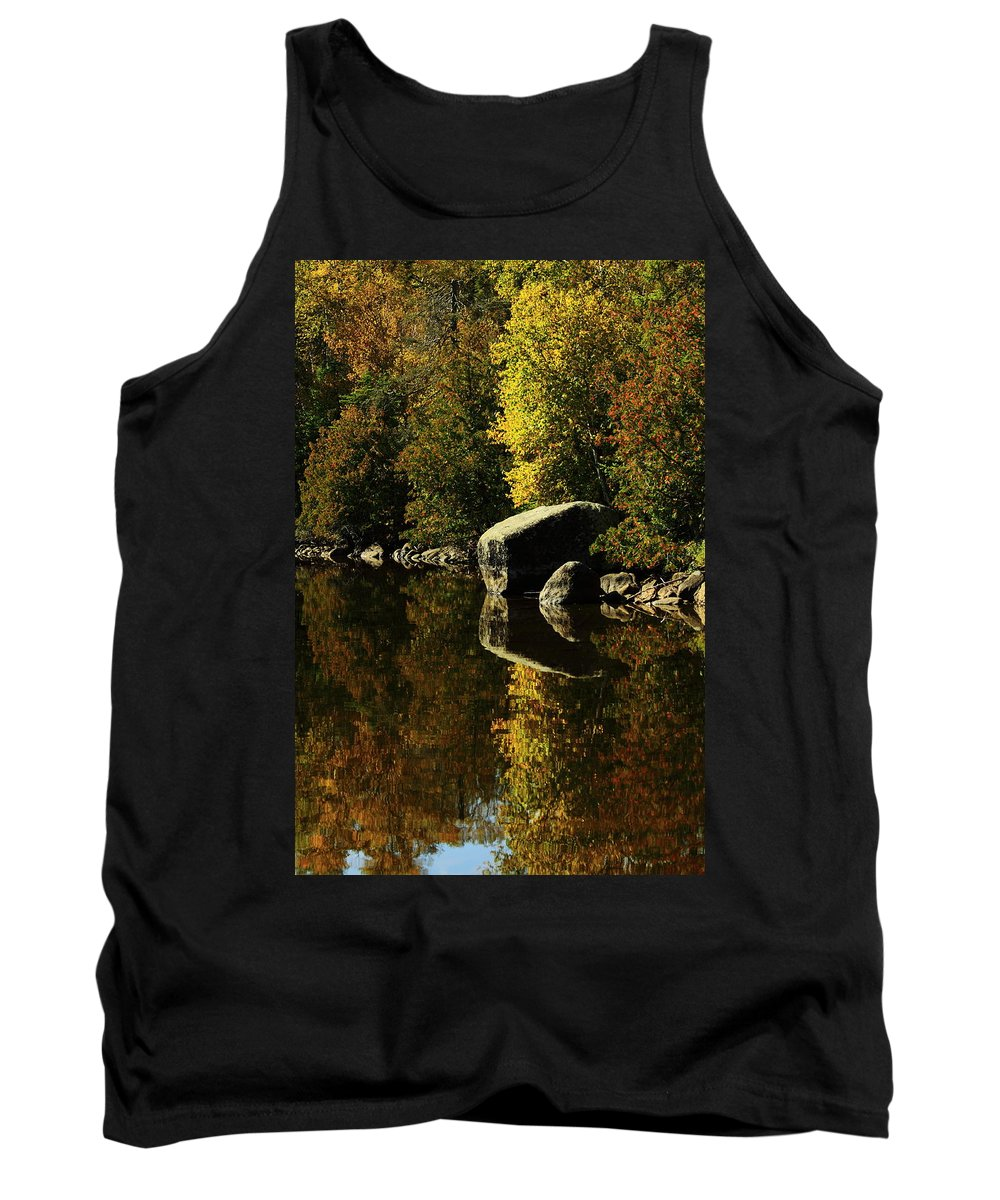 Tank Top featuring the photograph Reflections by Joi Electa