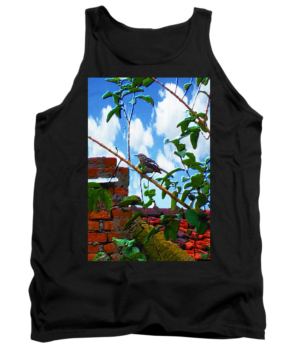 Paula Ayers Tank Top featuring the photograph Respite by Paula Ayers