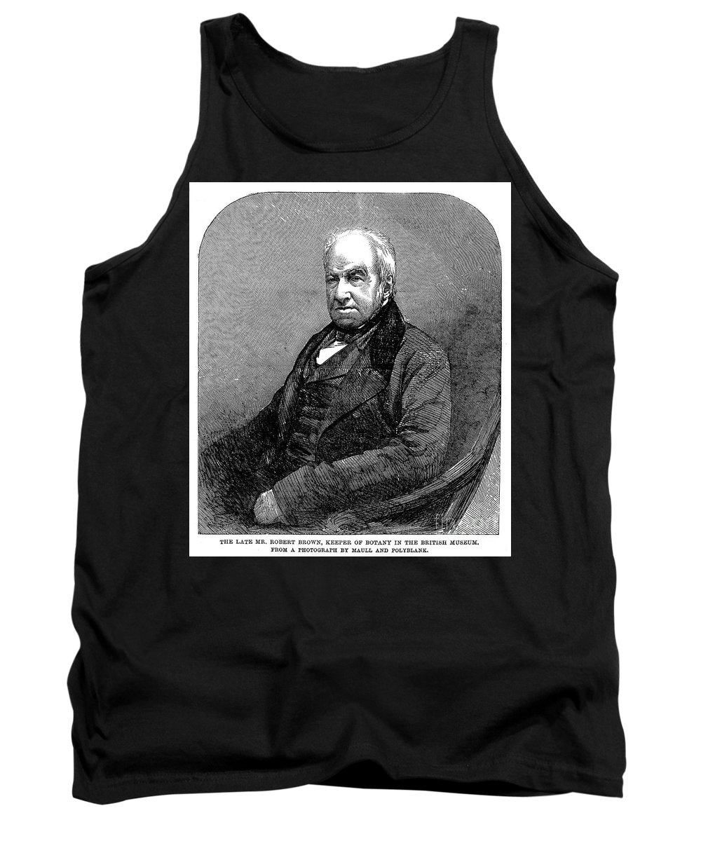 19th Century Tank Top featuring the photograph Robert Brown (1773-1858) by Granger