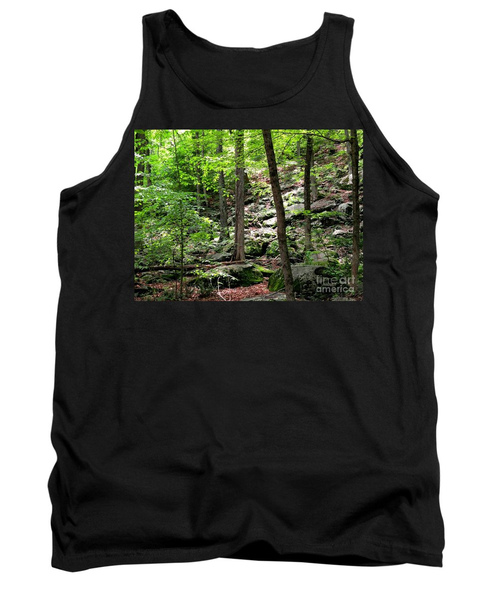 Forest Tank Top featuring the photograph Rocky Forest Of Chatfield by Meandering Photography
