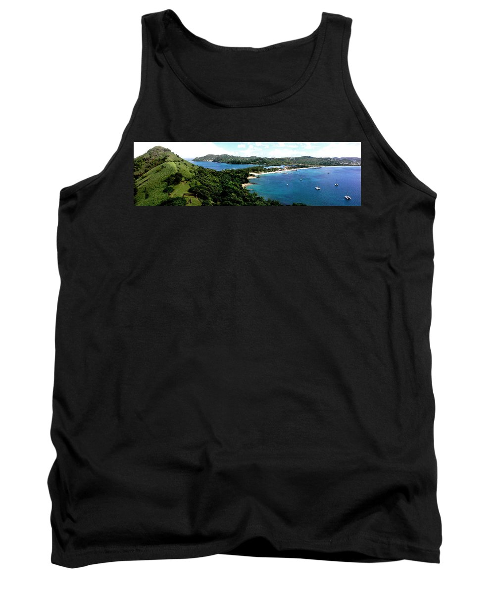Rodney Bay Tank Top featuring the photograph Rodney Bay St. Lucia by Duane McCullough
