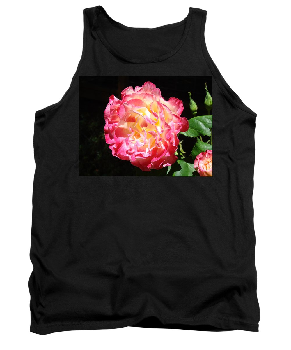 Rose Tank Top featuring the photograph Rose Floral Fine Art Prints Pink Roses Flower by Baslee Troutman