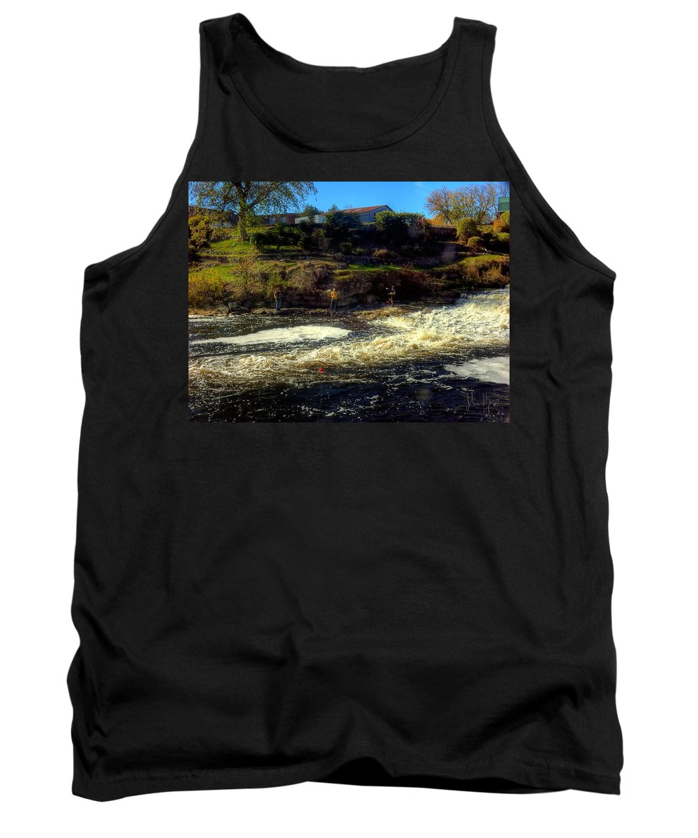 Xdop Tank Top featuring the photograph Salmon Pool by John Herzog