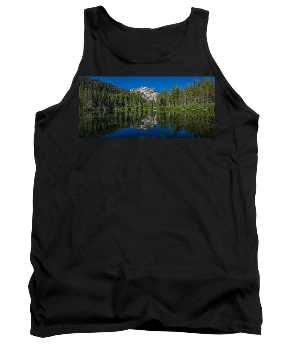 Sierra Tank Top featuring the photograph Sand Pond Panorama by Greg Nyquist