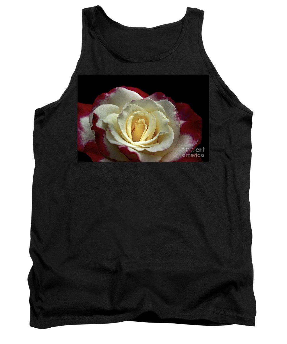 Rose Tank Top featuring the photograph Sarah's Rose by Benanne Stiens