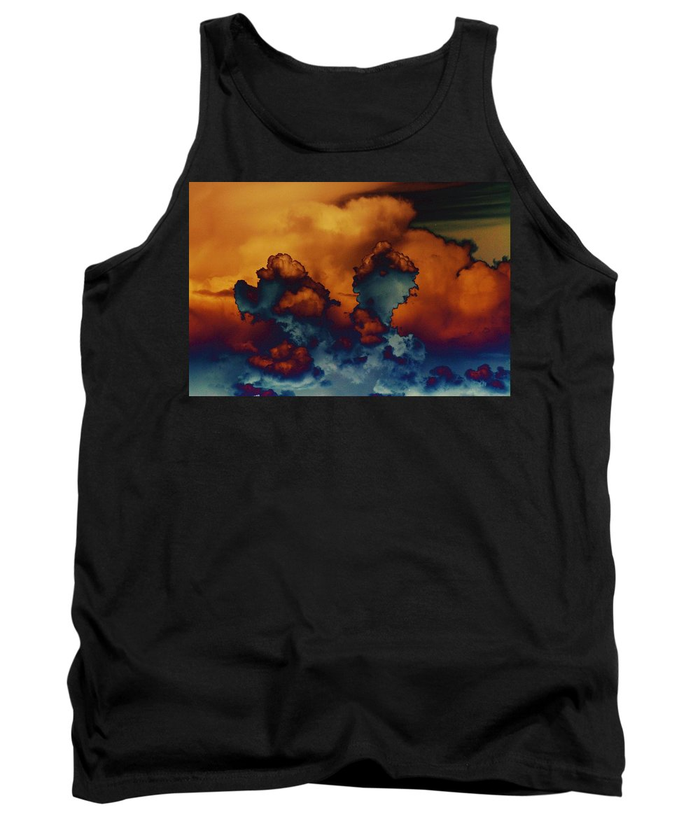 Clouds Tank Top featuring the photograph Sea Of Clouds by One Rude Dawg Orcutt