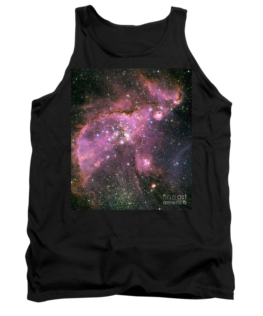 Hubble Space Telescope Tank Top featuring the photograph Small Magellanic Cloud by Nasa