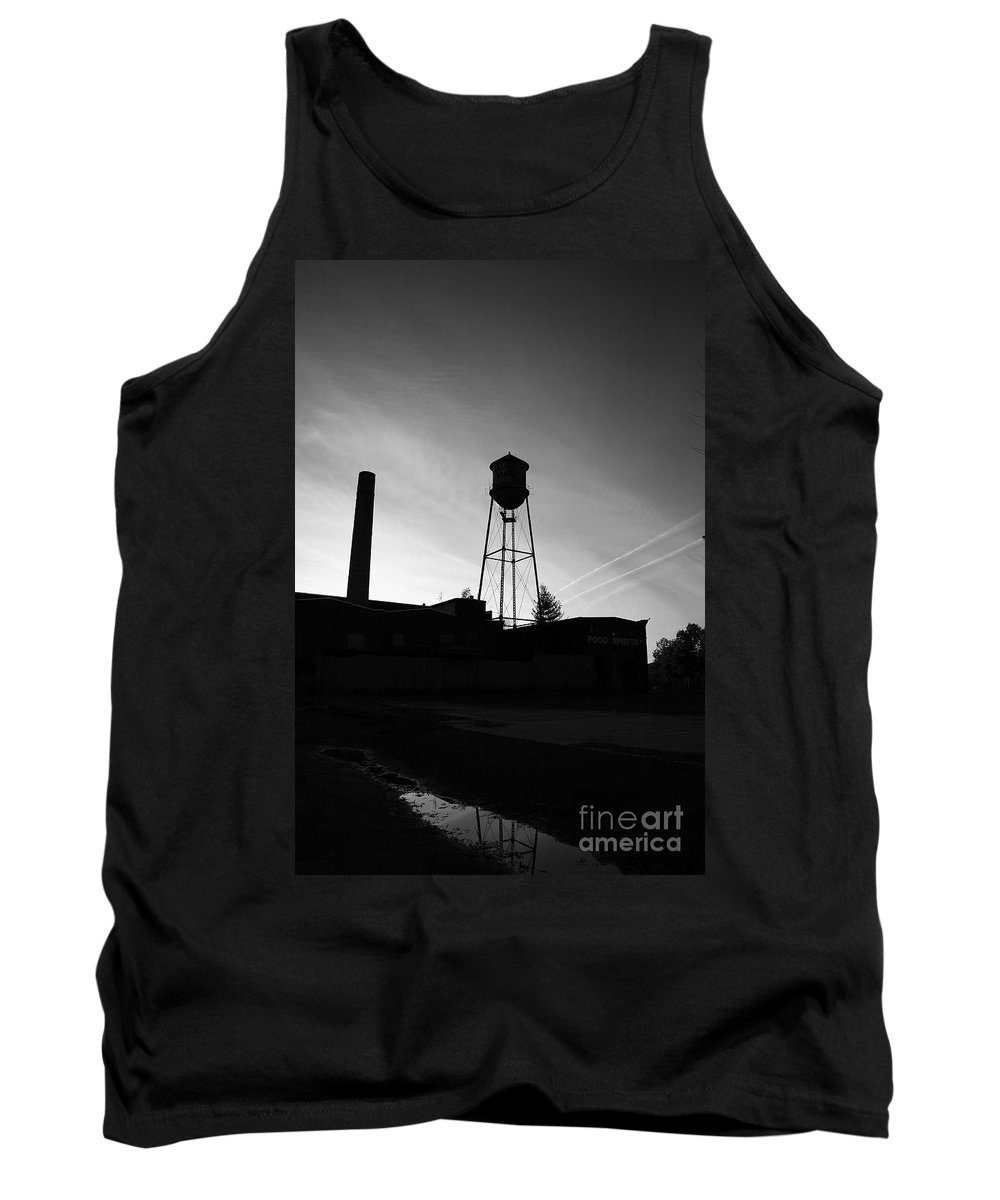 Dusk Tank Top featuring the photograph Smoke And Water by Maglioli Studios
