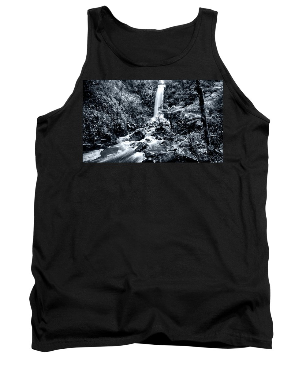 Erskine Fall Tank Top featuring the photograph Smooth Waters by Douglas Barnard