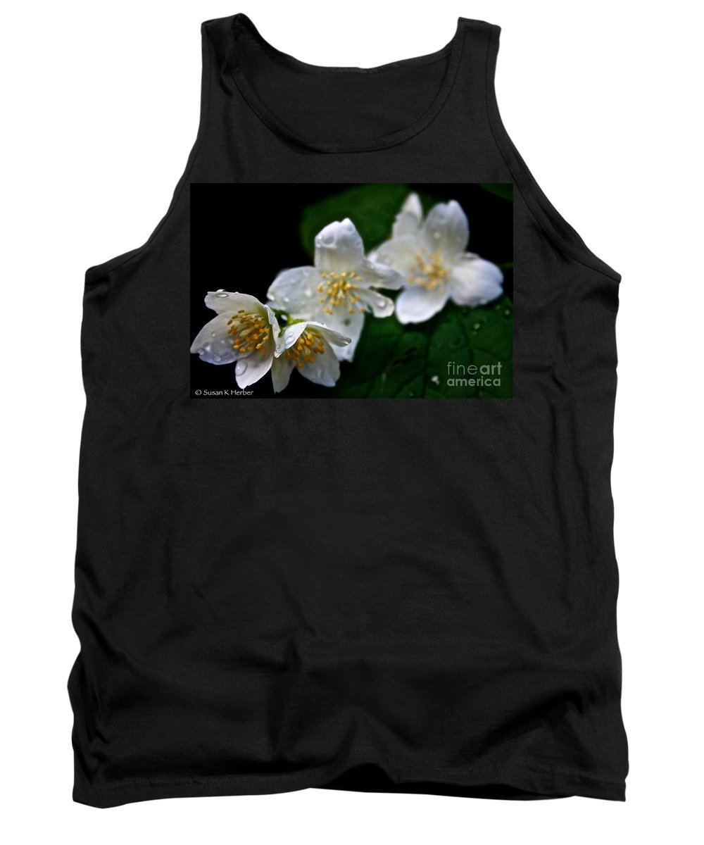 Outdoors Tank Top featuring the photograph Softly Weeping Skies by Susan Herber