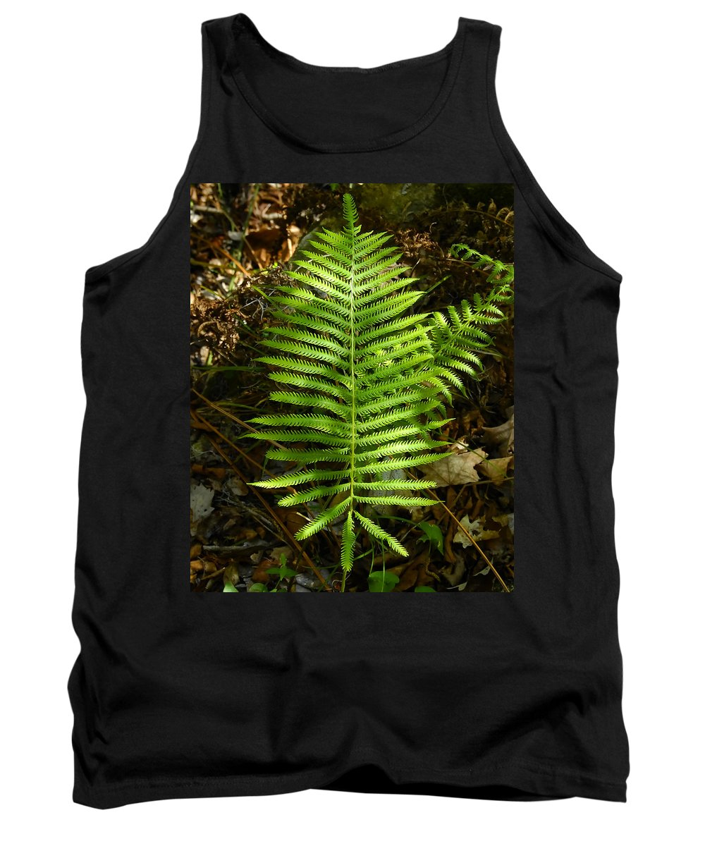 Fine Art Photography Tank Top featuring the photograph Southern Lady by David Lee Thompson