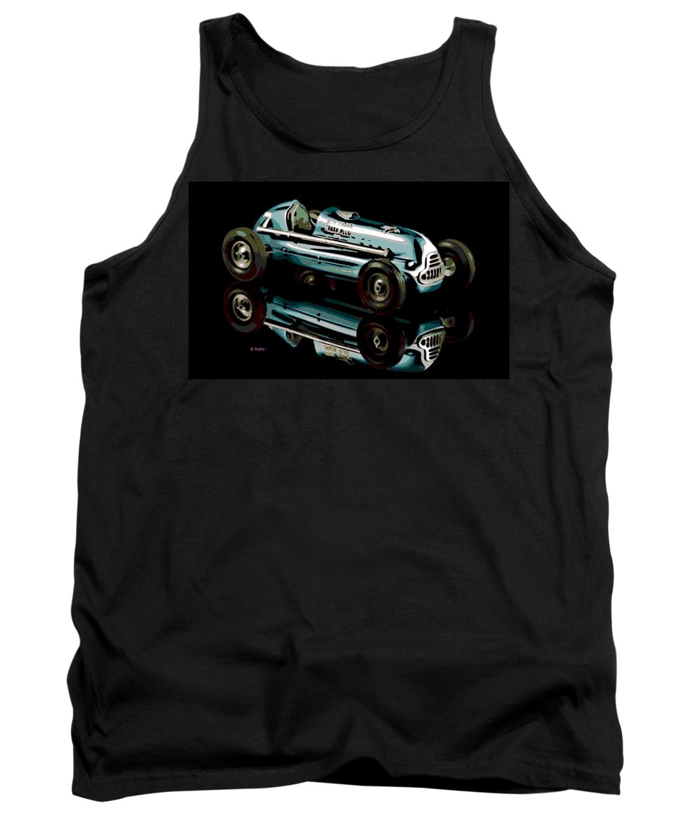 Spark Plug Tank Top featuring the photograph Spark Plug by George Pedro