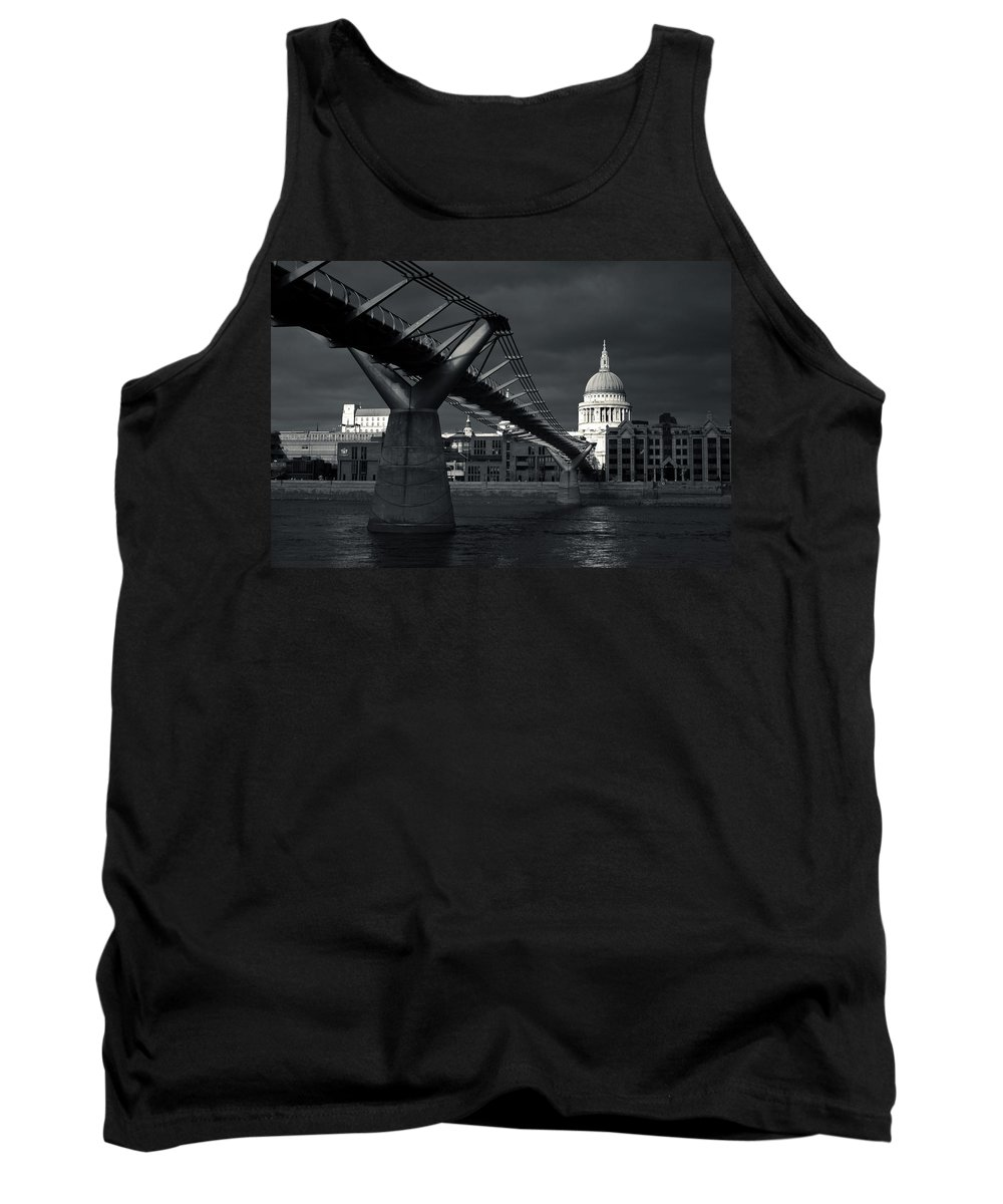 St Tank Top featuring the photograph St Pauls Cathedral by Andy Linden
