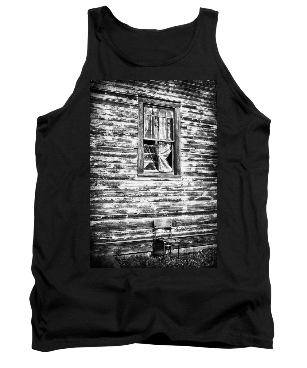Chair Tank Top featuring the photograph Standing Alone by The Artist Project