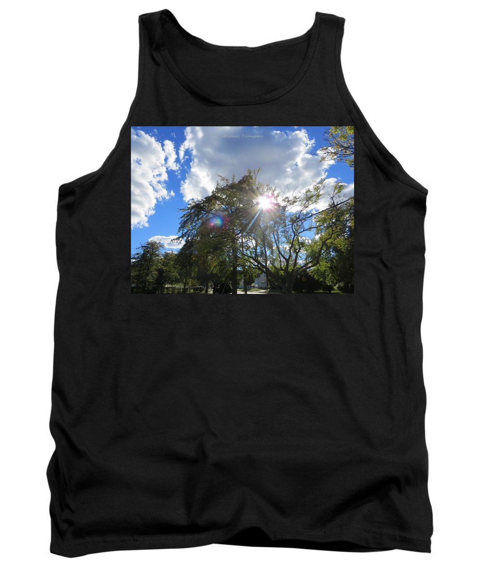 Helios Tank Top featuring the photograph Star Called Helios by Sonali Gangane