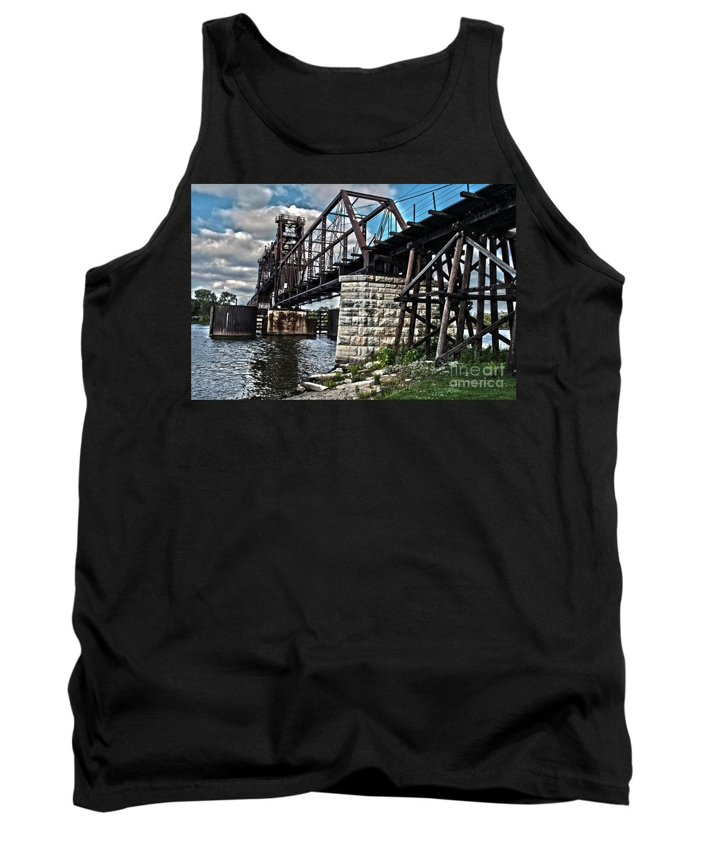 Beautiful Tank Top featuring the photograph Steel Water Hdr Number 7 by Alan Look