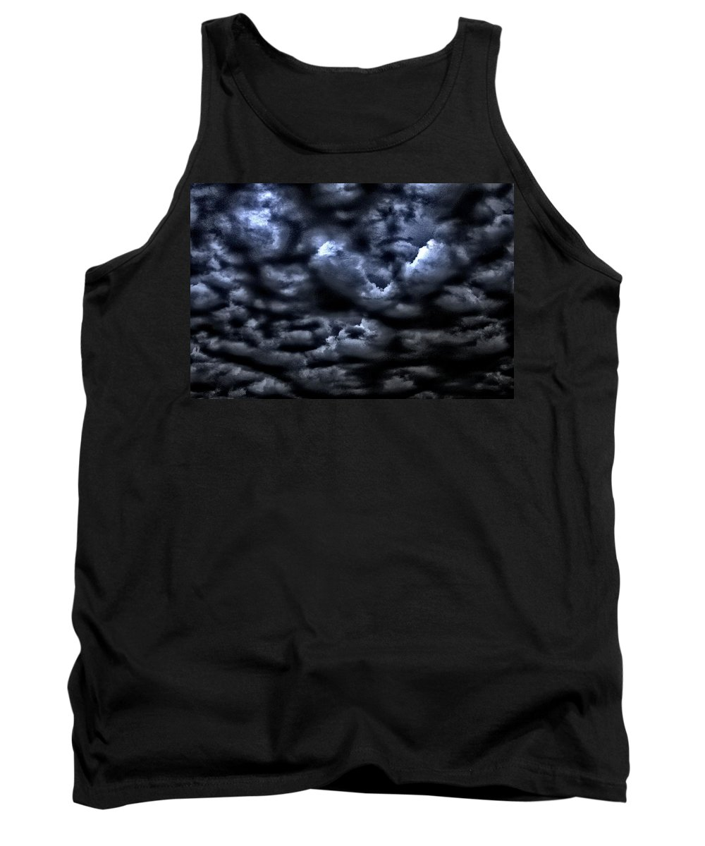 Clouds Tank Top featuring the photograph Storm Is Here by One Rude Dawg Orcutt