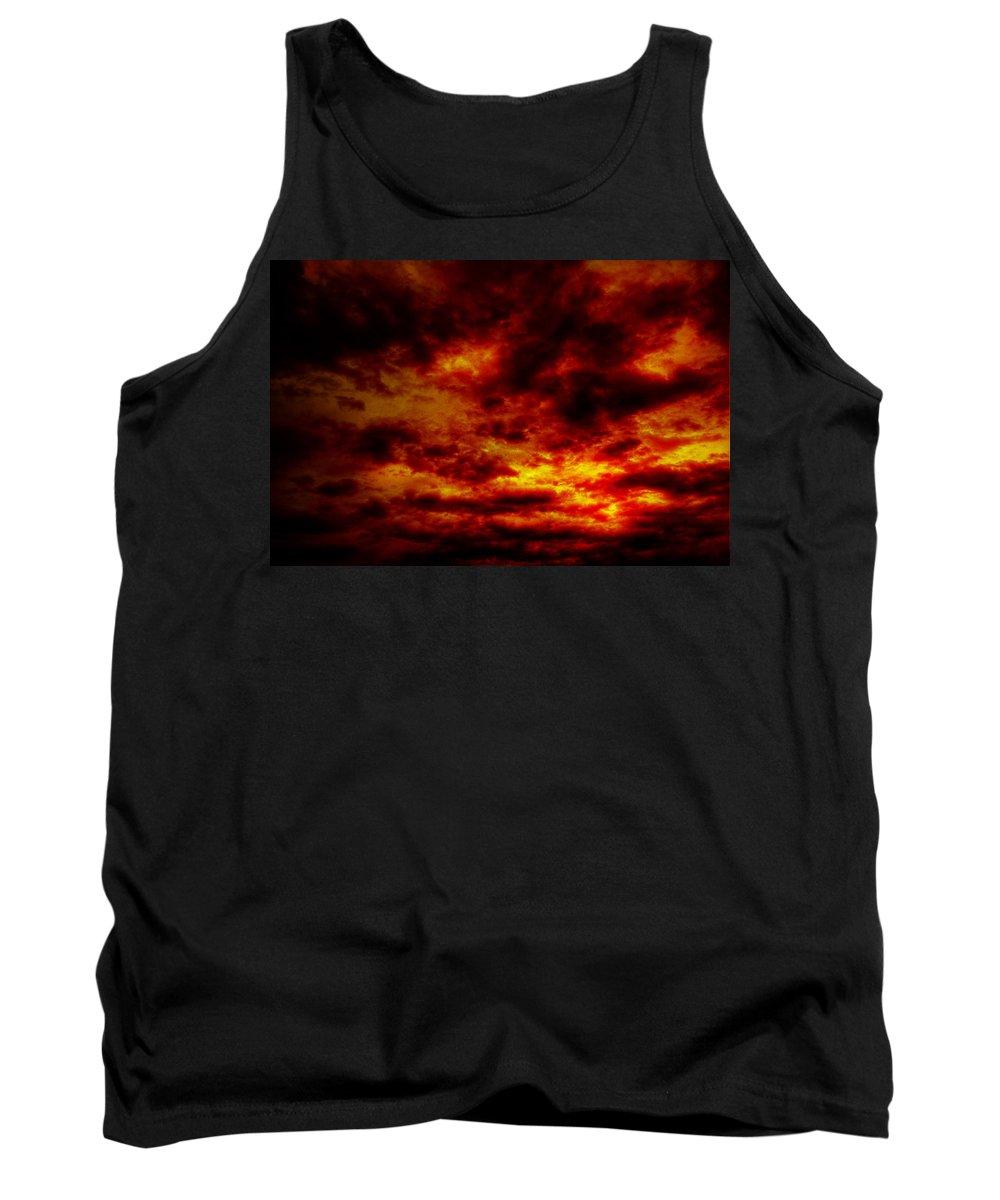 Acrylic Prints Tank Top featuring the photograph Sunset by John Herzog