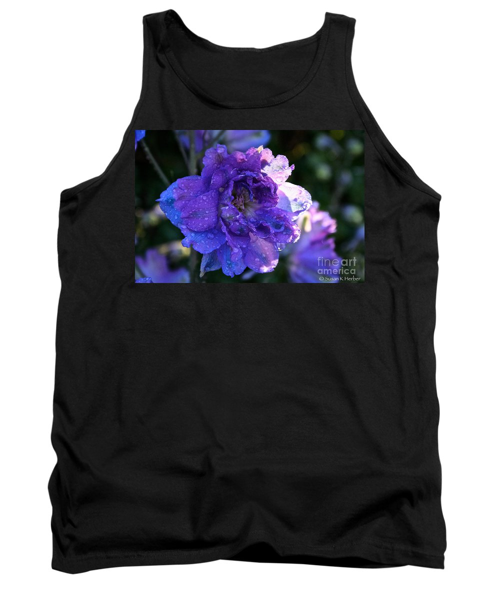 Landscape Tank Top featuring the photograph Sunshine Post Showers by Susan Herber