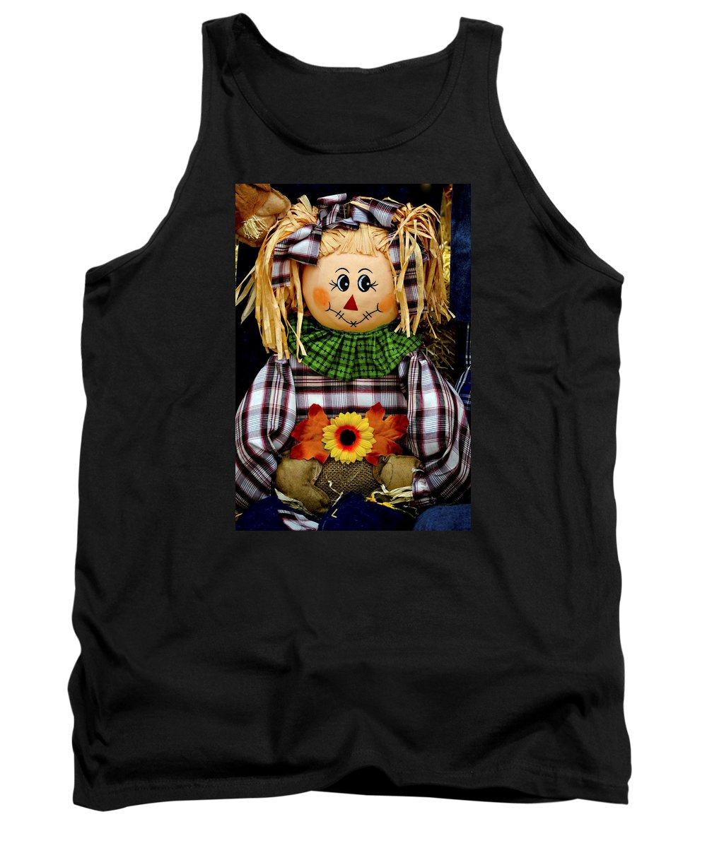 Autumn Tank Top featuring the photograph Sweet Smile by Julie Palencia