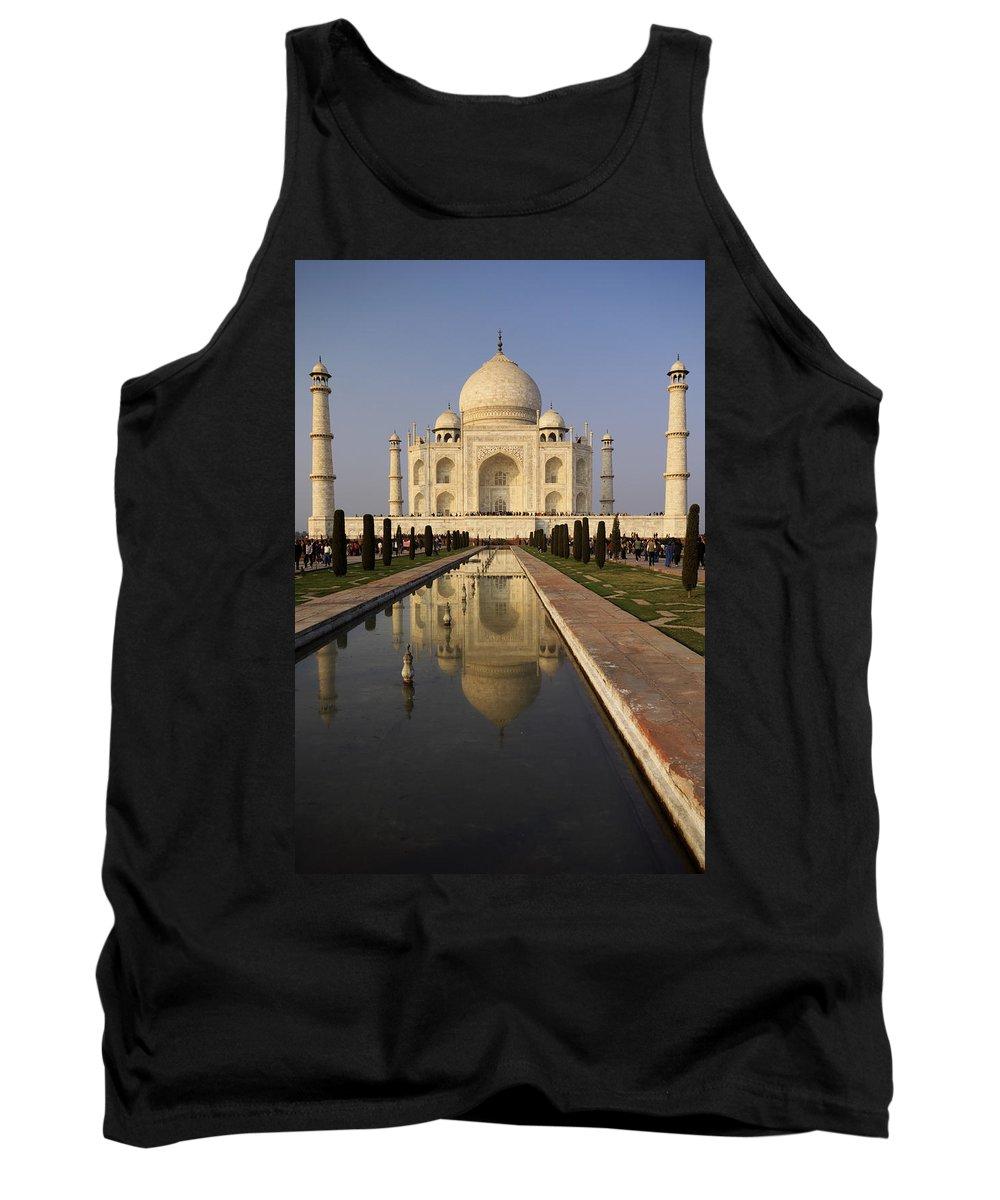 Agra Tank Top featuring the photograph Taj Mahal Reflection by Ivan Slosar