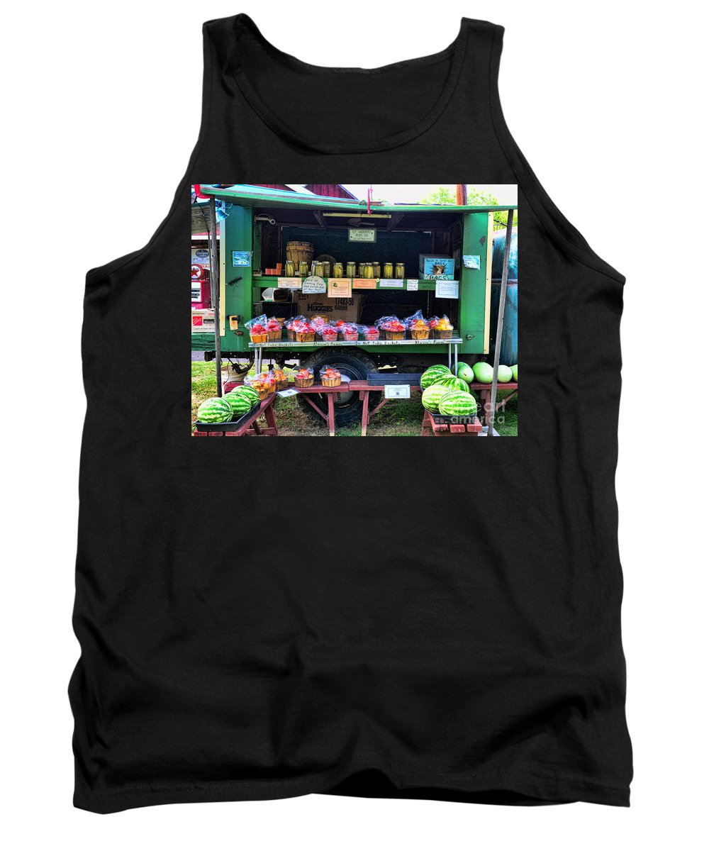 Farmer's Market Tank Top featuring the photograph The Farmers Market by Paul Ward