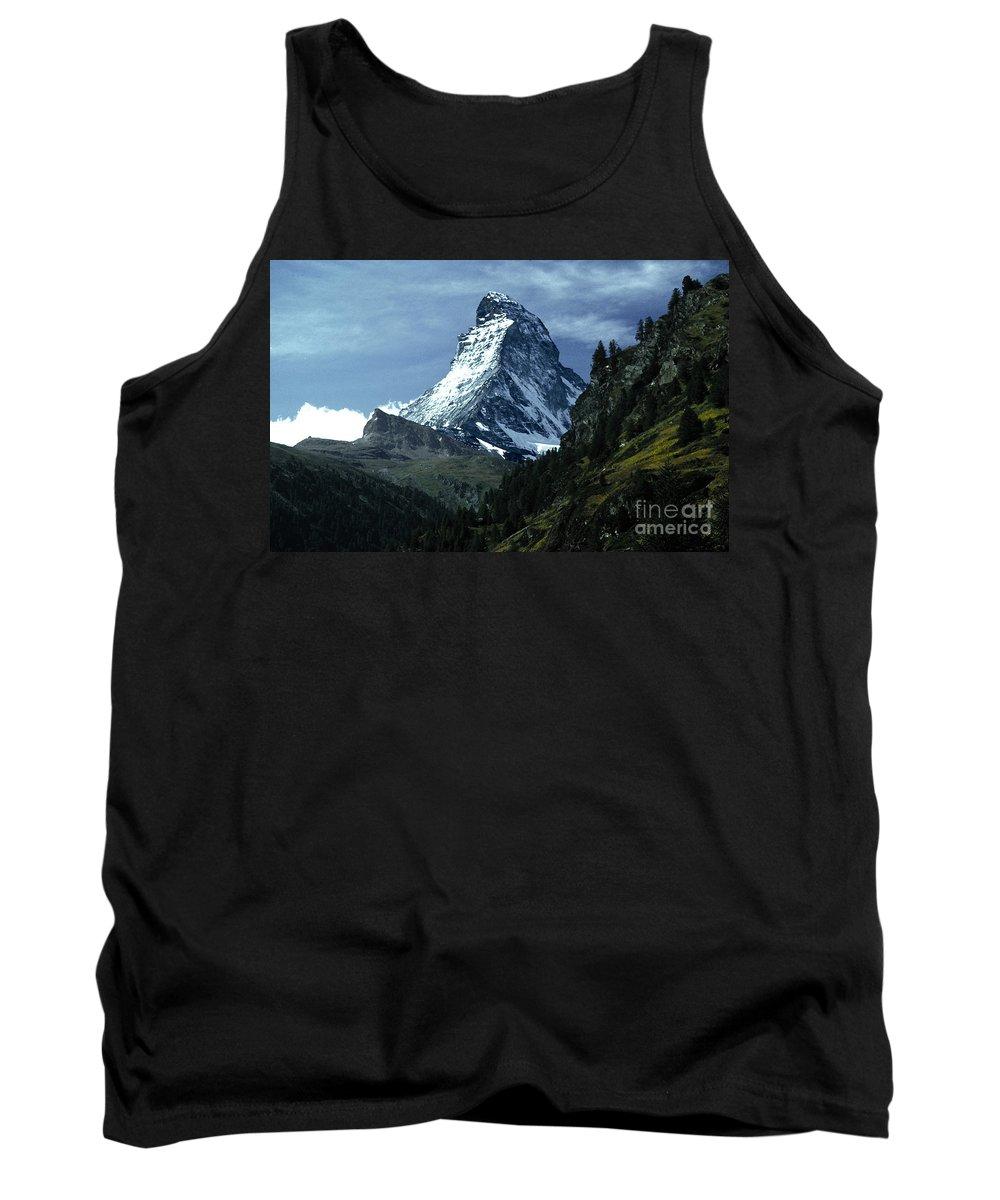 Matterhorn Tank Top featuring the photograph The Matterhorn by Mike Nellums