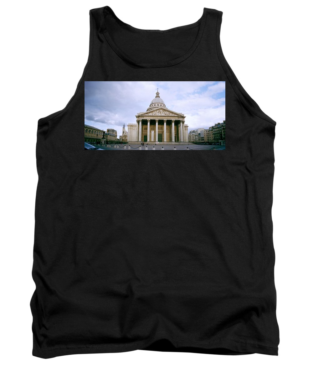 Paris Tank Top featuring the photograph The Pantheon by Shaun Higson