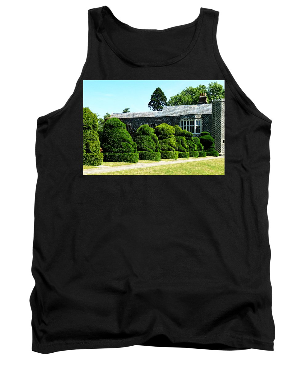Queen Tank Top featuring the photograph The Queens Beasts by Steve Taylor
