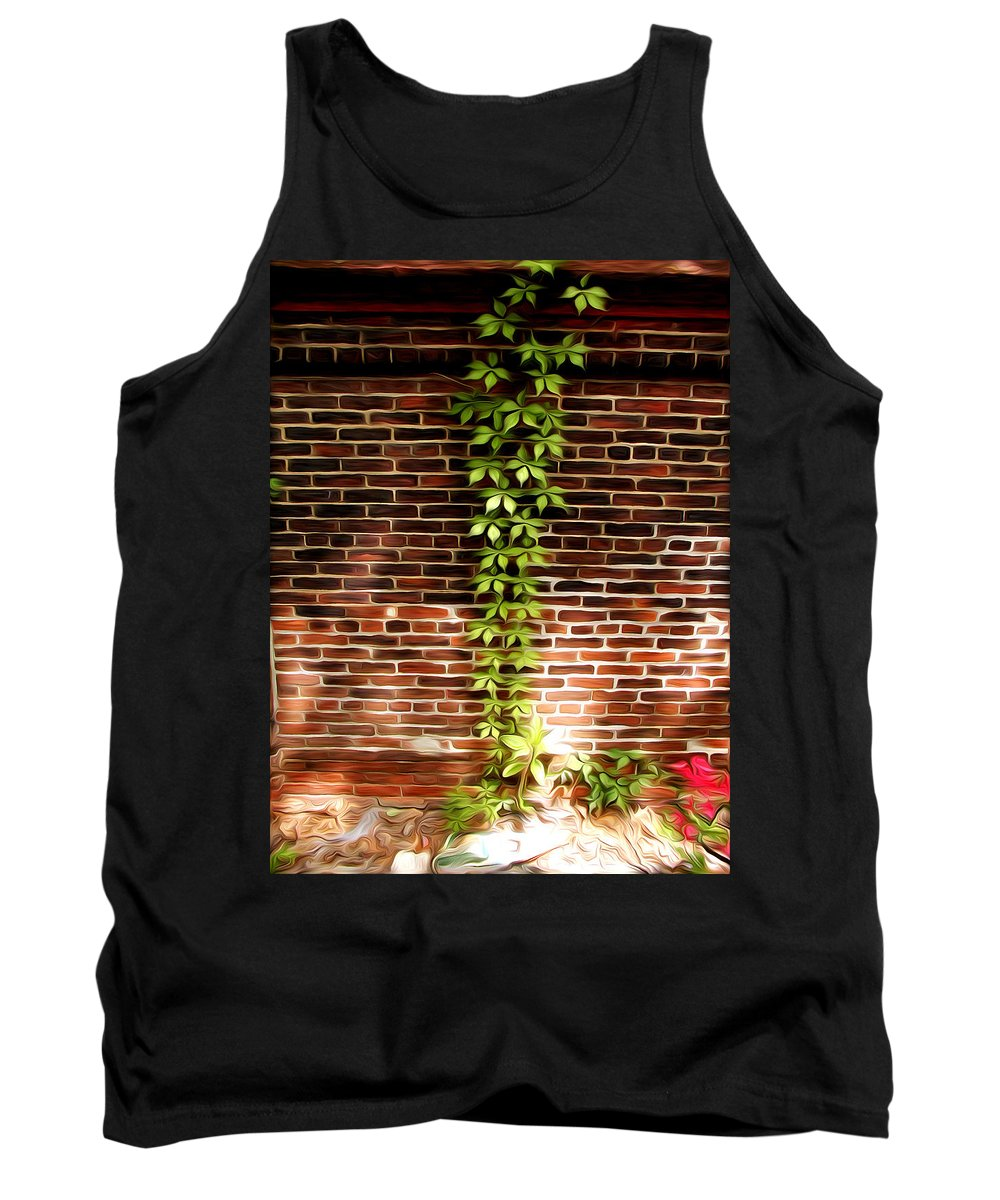 The Vine Tank Top featuring the photograph The Vine by Bill Cannon
