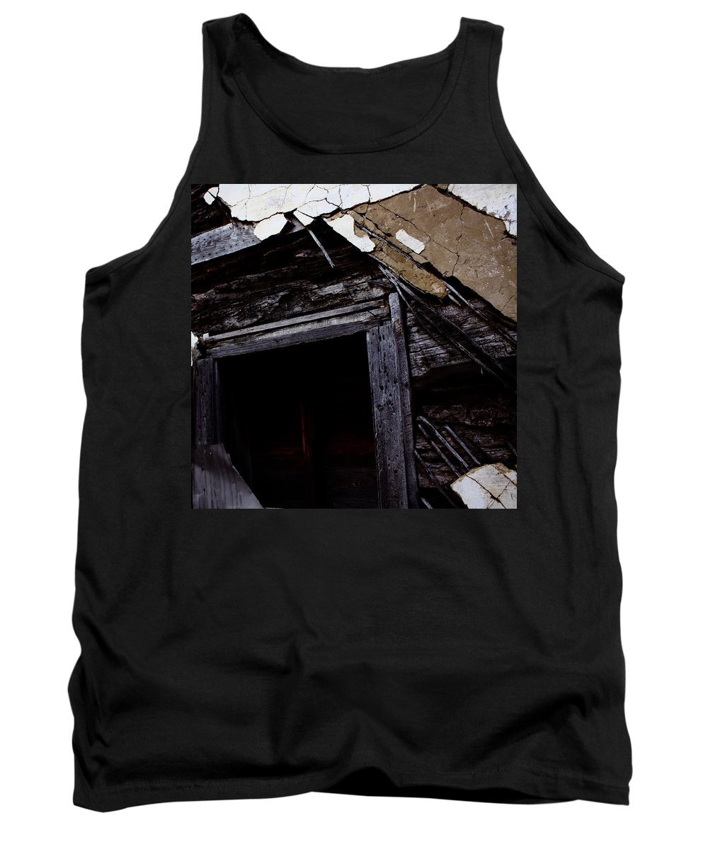 Street Tank Top featuring the photograph Three Little Pigs by The Artist Project