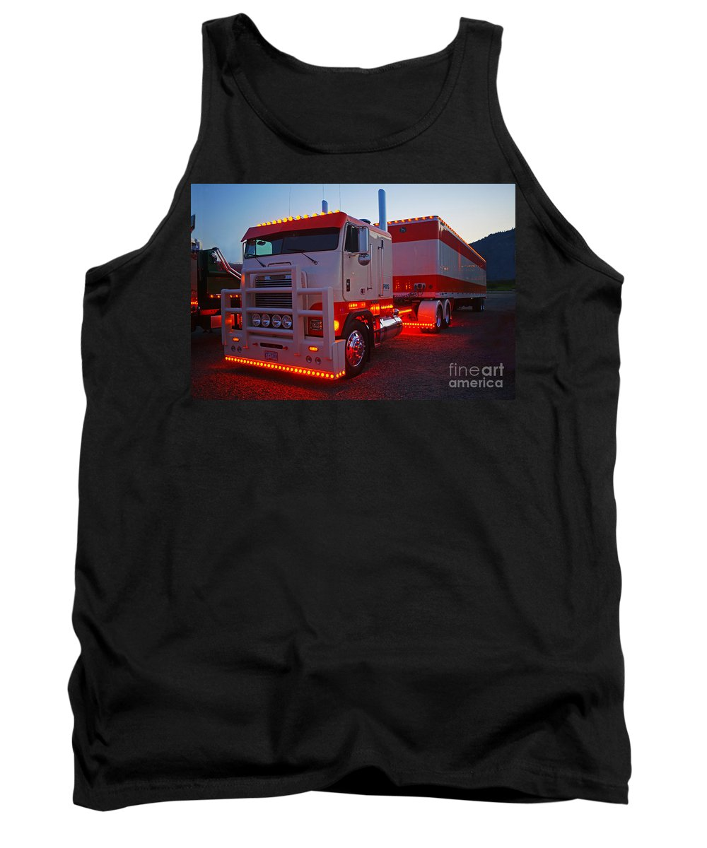 Trucks Tank Top featuring the photograph Tr0419-12 by Randy Harris