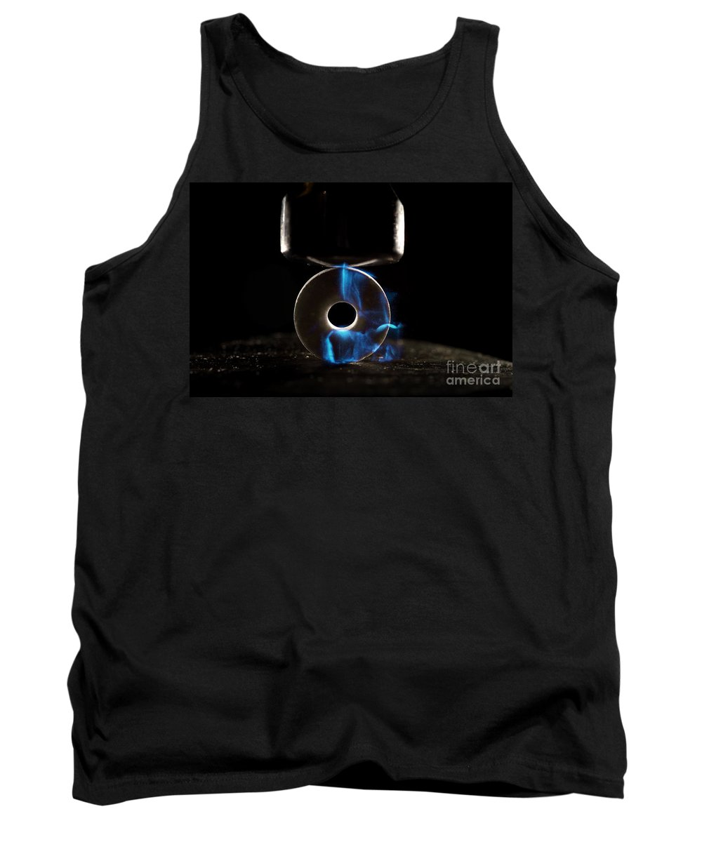 Candy Tank Top featuring the photograph Triboluminescence by Ted Kinsman